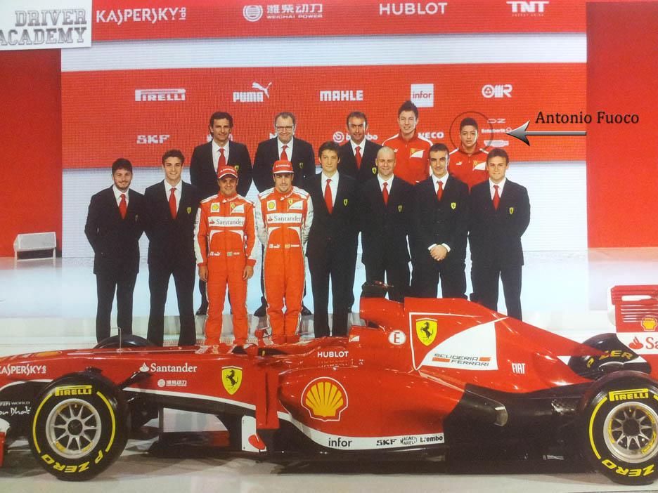 Team Ferrari 2013