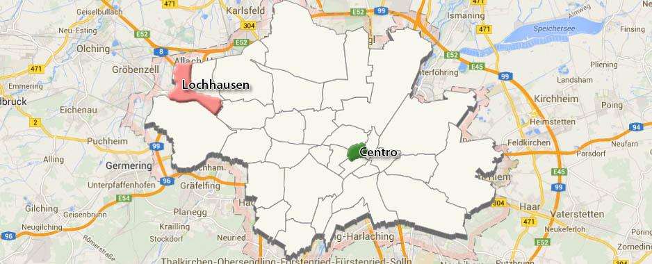 Monaco di Baviera: Quartiere di Lochhausen