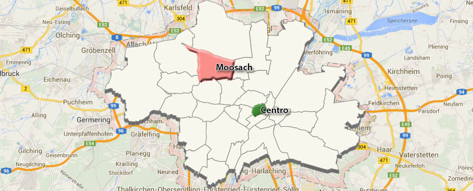 Monaco di Baviera: Quartiere di Moosach