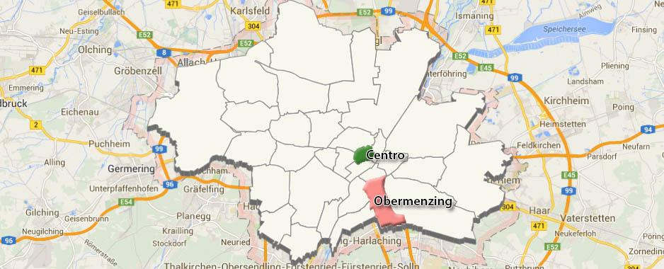 Monaco di Baviera: Quartiere di Obermenzing